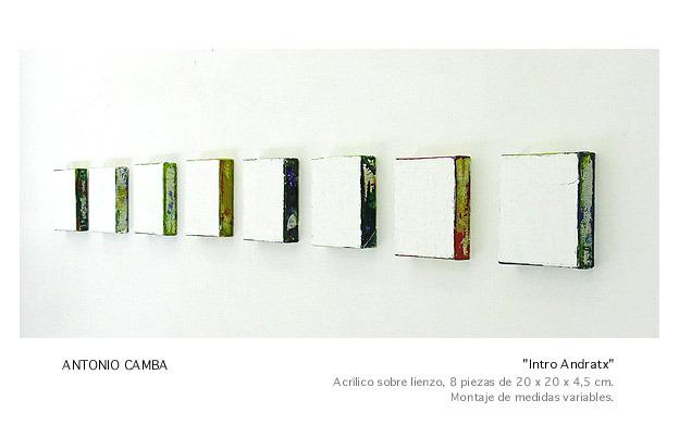 Obras de Arte del Artista Antonio Camba